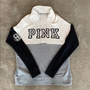 Off White, Black, and Grey PINK sweatshirt!